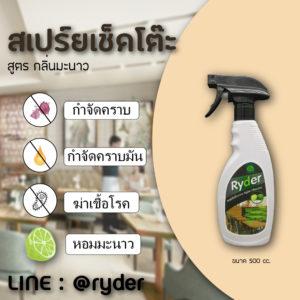 เปรยทำความสะอาดมะนาว